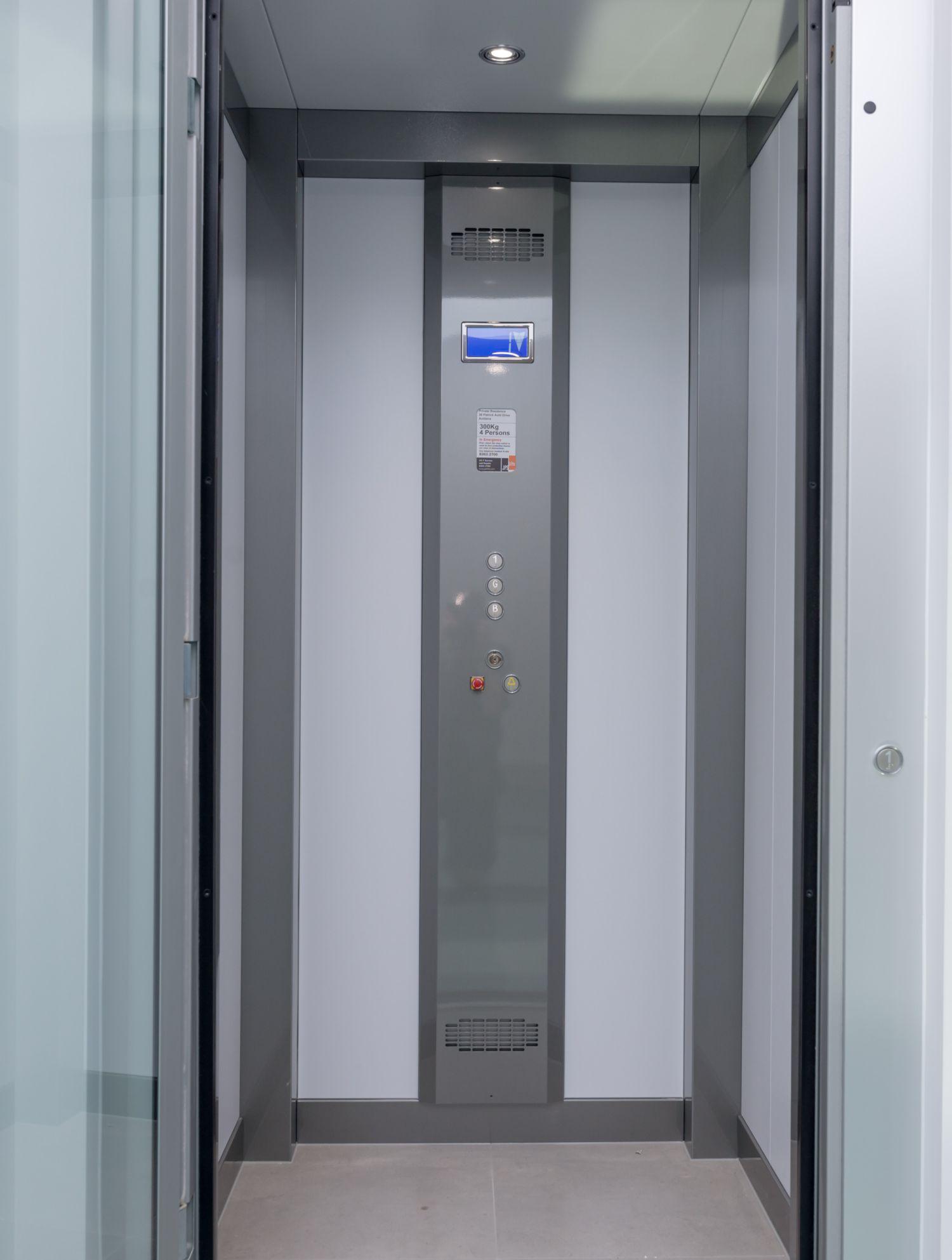 Adelaide Home Lifts Genius 300 Auldana Home Lift Door Open