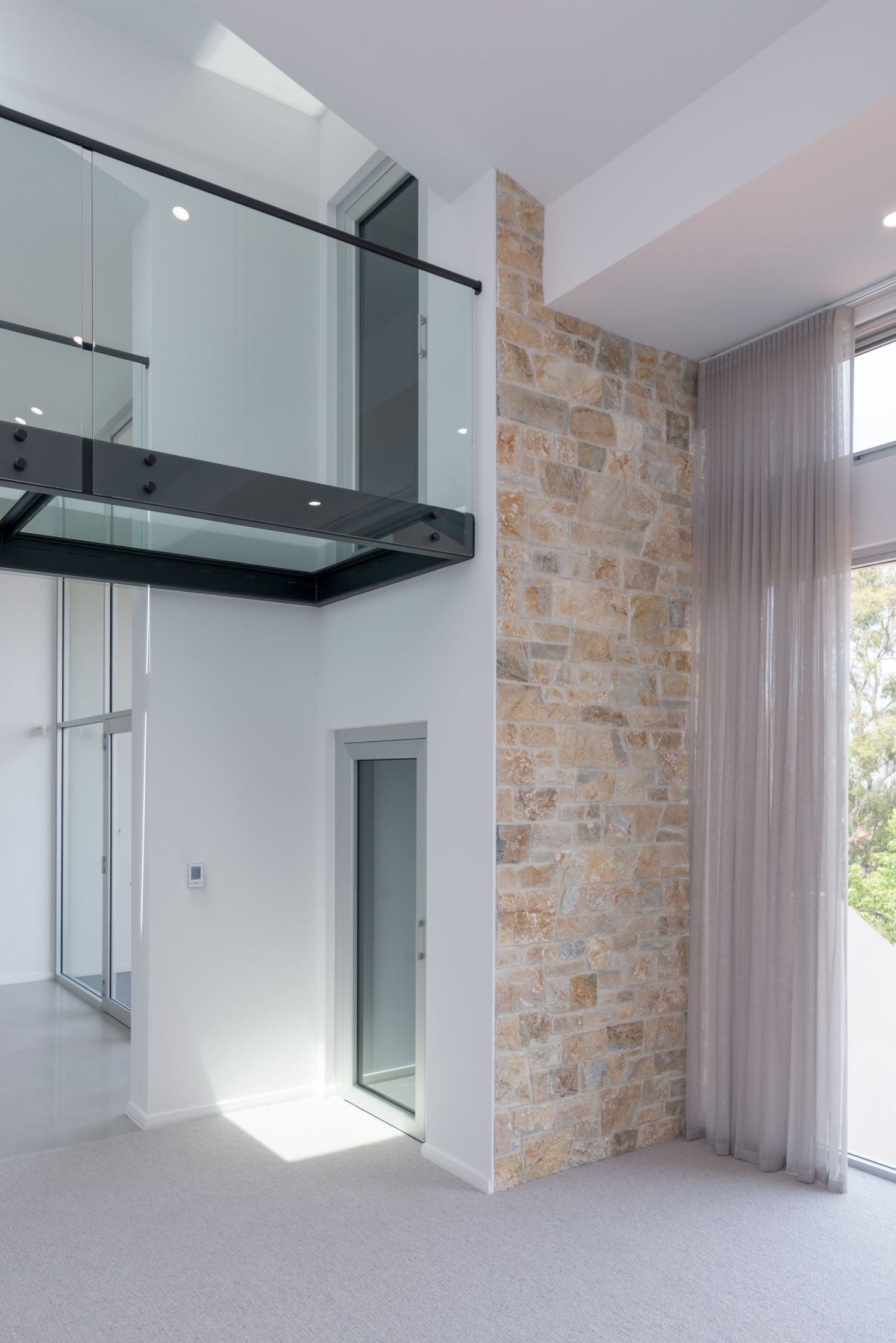 Adelaide Home Lifts Genius 300 Auldana Two Entrances